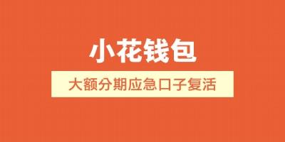 【小花钱包】大额分期应急口子复活  资质不黑的速速申请!