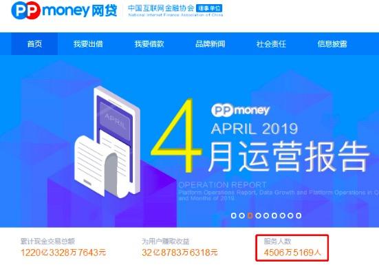 打造更为优质的小额资产 ppmoney用户突破4500万